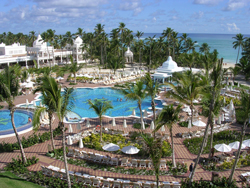The Riu Palace, an all inclusive resort in Punta Cana
